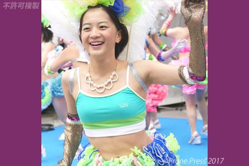 神戸マラソン2017 神戸サンバチーム サンバ 画像
