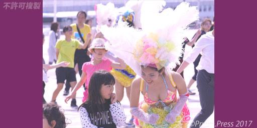 神戸まつり 2017 サンバ 教室 かわいい 少女 神戸サンバチーム 画像