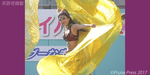 長田フェスティバル hitomiya Bellydance ベリーダンス 画像