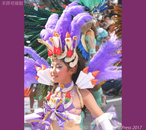 神戸まつり2017 フェジョン・プレット サンバ少女 画像