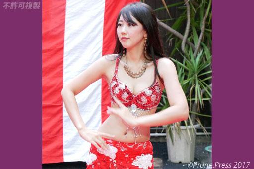 大須夏まつり2017 ラティーフベリーダンス 画像