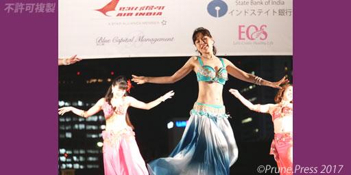 花神弁天 インディアメーラー2017 ベリーダンス ボリウッドダンス 画像