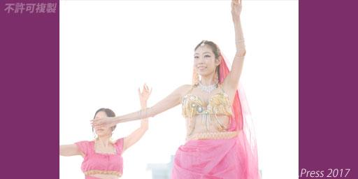 オリエンタルローズ インディアメーラー2017 ベリーダンス ボリウッドダンス 画像