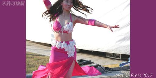 神戸マラソン沿道応援  Bellydance Alabiana ベリーダンス 画像