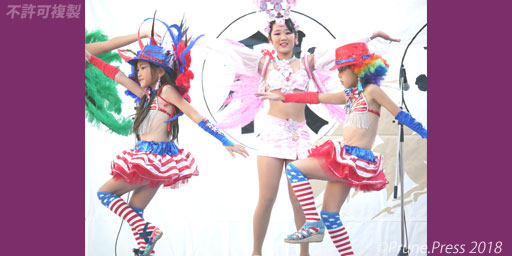 Escola De Samba KOBECCO 秋華祭 2018 サンバ 画像