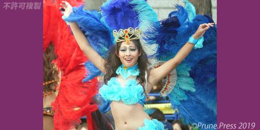 御堂筋 パレード オータムパーティー ランウェイ 2019 サンバ フェジョン・プレット 画像
